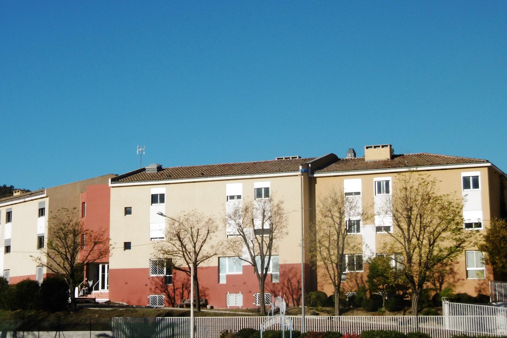 Exterieur du bâtiment de la Clinique du Val d'Estreilles